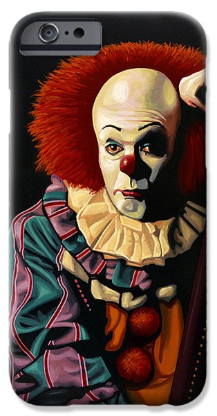 Pennywise IPhone Case by Paul Meijering