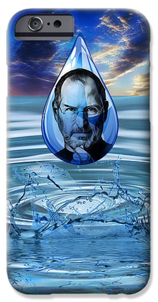 People Changing History Steve Jobs IPhone 6s Case by Marvin Blaine