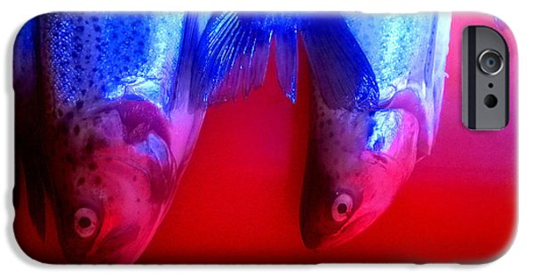 Pesce 1 IPhone Case by Theo Danella