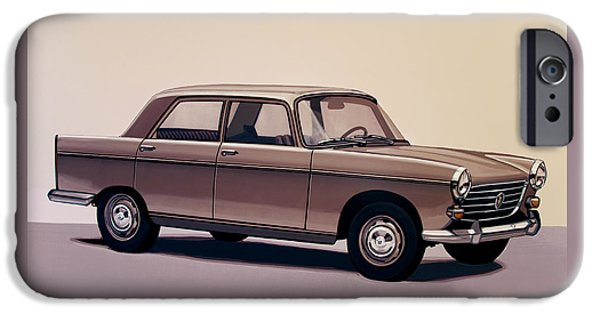 Peugeot 404 1960 Painting IPhone Case by Paul Meijering