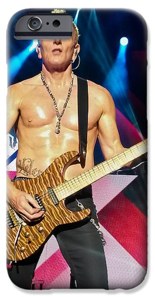 Phil Collen Of Def Leppard 5 IPhone 6s Case by David Patterson