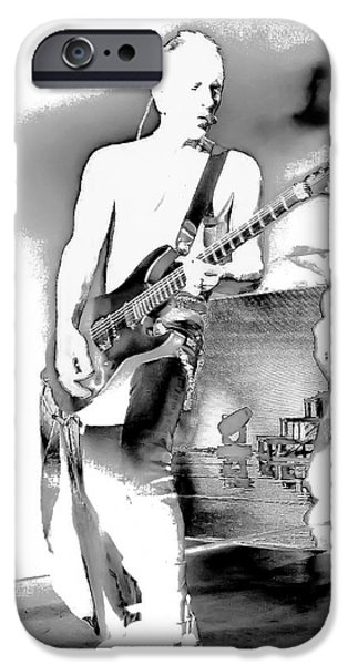 Phil Collen Of Def Leppard IPhone Case by David Patterson