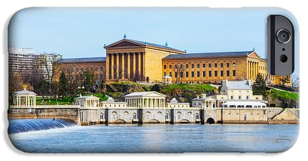 Philadelphia Art Museum View IPhone Case by Bill Cannon