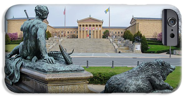 Philadelphia - The Museum Of Art IPhone Case by Bill Cannon