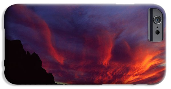 Phoenix Risen IPhone Case by Randy Oberg