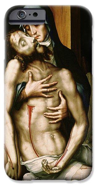 Pieta IPhone Case by Luis de Morales