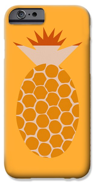Pineapple IPhone Case by Frank Tschakert