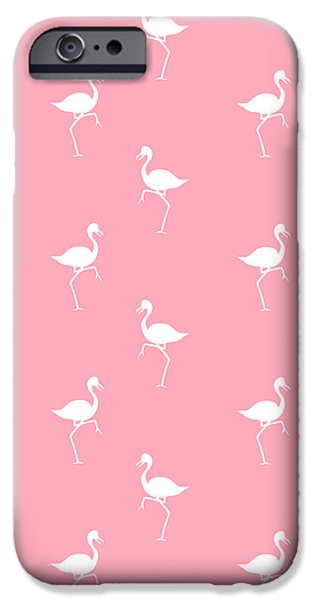 Pink Flamingos Pattern IPhone 6s Case by Christina Rollo
