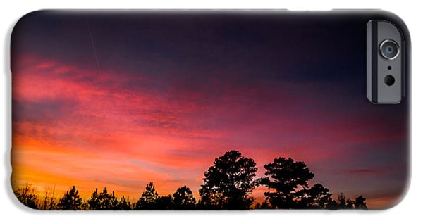 Pink Hues Fill The Sky IPhone Case by Shelby Young