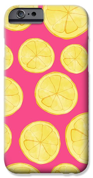 Pink Lemonade IPhone 6s Case by Allyson Johnson
