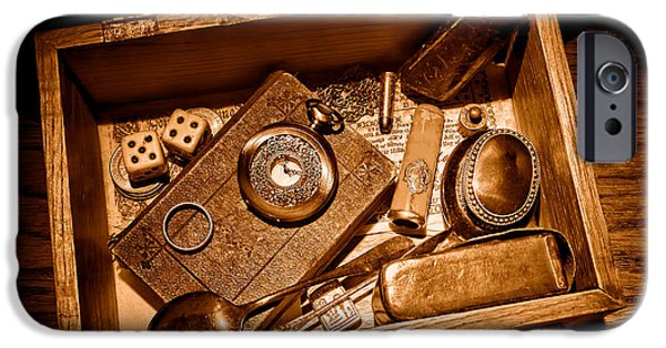 Pioneer Keepsake Box - Sepia IPhone 6s Case by Olivier Le Queinec
