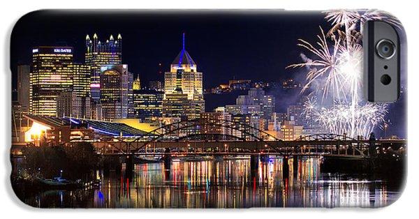 Pittsburgh 1  IPhone Case by Emmanuel Panagiotakis