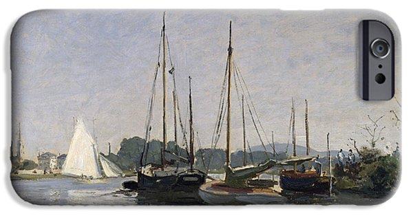 Pleasure Boats Argenteuil IPhone Case by Claude Monet