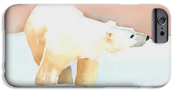 Polar Bear IPhone 6s Case by Arline Wagner