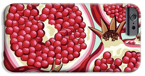 Pomegranate   IPhone 6s Case by Mark Ashkenazi