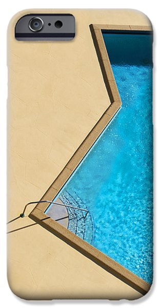 Pool Modern IPhone Case by Laura Fasulo