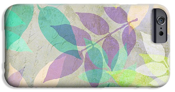 Poppy Shimmer IIi  IPhone Case by Mindy Sommers