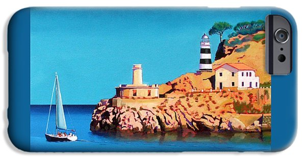 Port Soller Two IPhone Case by Paul Powis