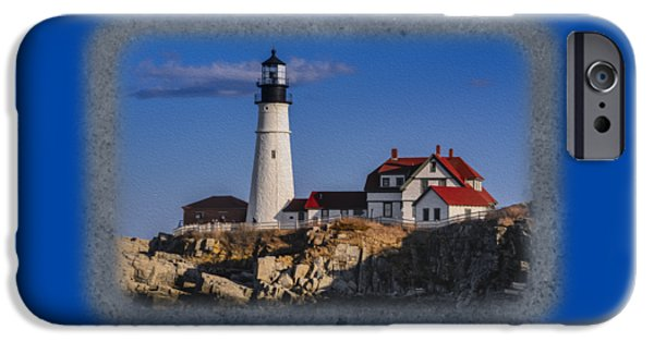 Portland Head Light No. 44 IPhone Case by Mark Myhaver