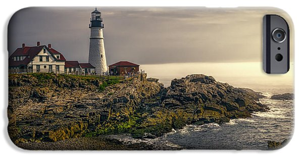 Portland Head Lighthouse 2014 IPhone Case by Joan Carroll