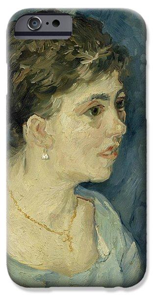 Portrait Of A Prostitute IPhone Case by Vincent van Gogh