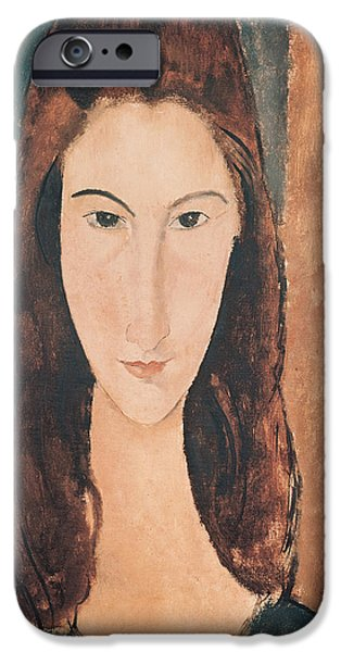 Portrait Of A Young Girl IPhone 6s Case by Amedeo Modigliani