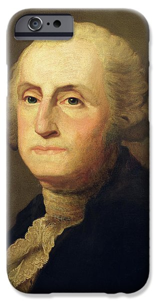Portrait Of George Washington IPhone Case by Gilbert Stuart