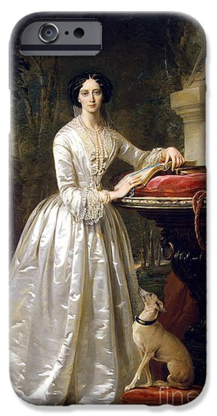 Portrait Of Grand Duchess Maria Alexandrovna IPhone Case by Christina Robertson