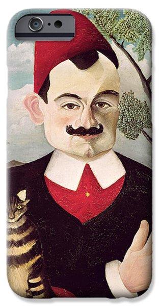 Portrait Of Pierre Loti IPhone Case by Henri Rousseau