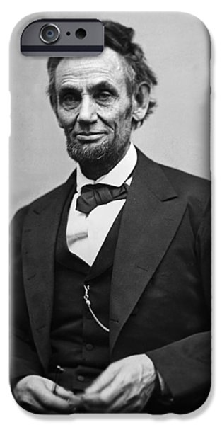 Portrait Of President Abraham Lincoln IPhone 6s Case by International  Images