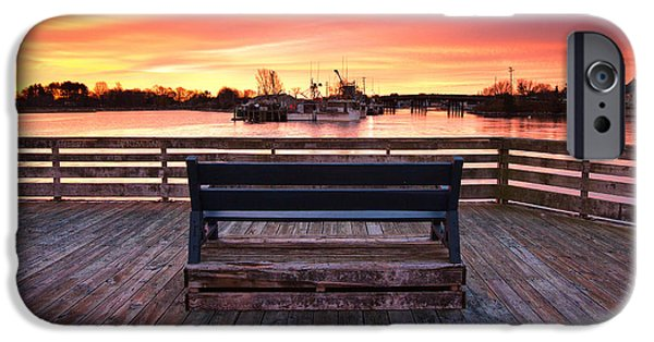 Prescott Pier IPhone Case by Eric Gendron