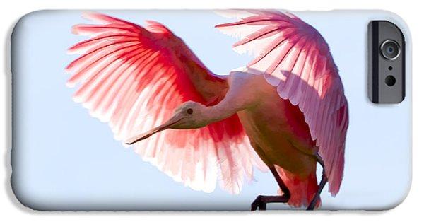 Pretty In Pink IPhone 6s Case by Janet Fikar
