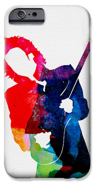 Prince Watercolor IPhone Case by Naxart Studio