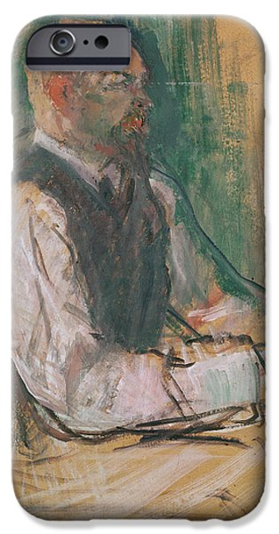 Professor Robert Wurz  IPhone Case by Henri De Toulouse-Lautrec