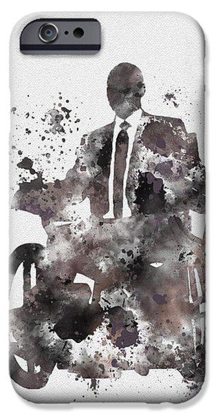 Professor X IPhone Case by Rebecca Jenkins