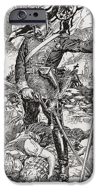 Propaganda Illustration Entitled The IPhone Case by Vintage Design Pics