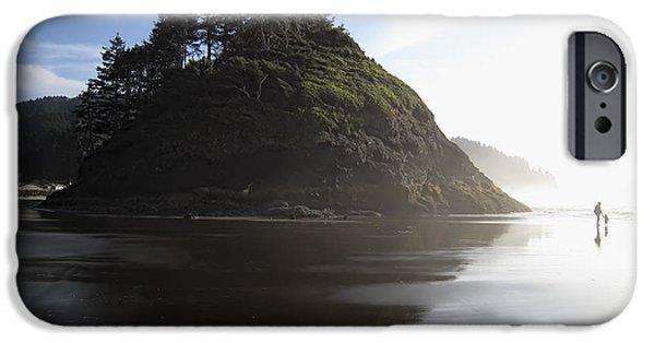 Proposal Rogue Wave Rock - Oregon Coast IPhone Case by Daniel Hagerman