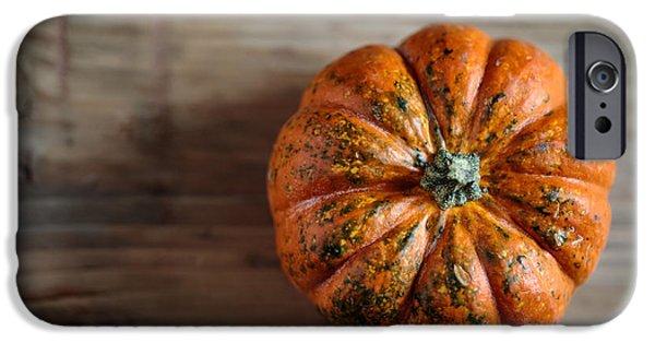 Pumpkin IPhone Case by Nailia Schwarz