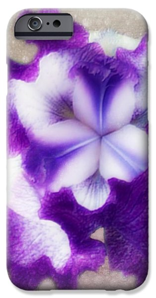 Purple Splash IPhone Case by Anita Faye