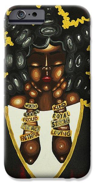 Queenisms IPhone Case by Aliya Michelle