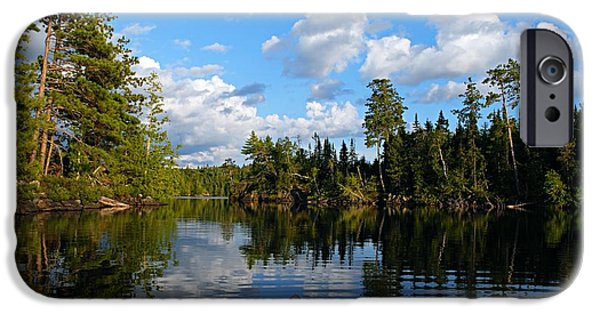 Quiet Paddle IPhone Case by Larry Ricker