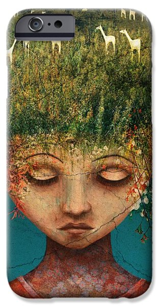 Quietly Wild IPhone Case by Catherine Swenson