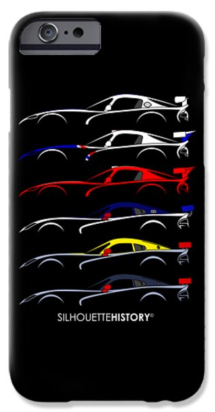 Racing Snake Silhouettehistory IPhone 6s Case by Gabor Vida