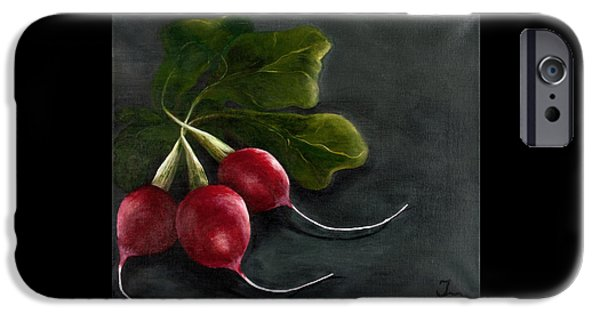 Radishes IPhone Case by Christina Burke-Gagnon