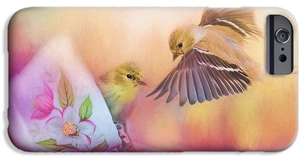Raiding The Teacup - Songbird Art IPhone 6s Case by Jai Johnson