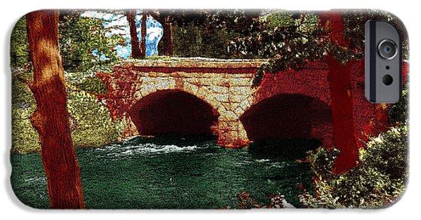 Railroad Bridge IPhone Case by Cliff Wilson