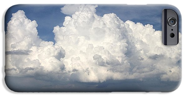 Rain Clouds Over Lake Apopka IPhone Case by Carl Purcell