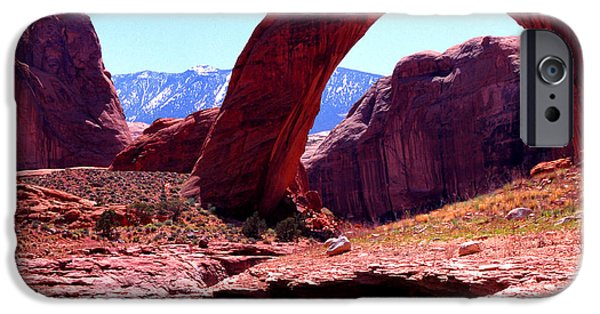 Rainbow Bridge National Monument IPhone Case by Thomas R Fletcher