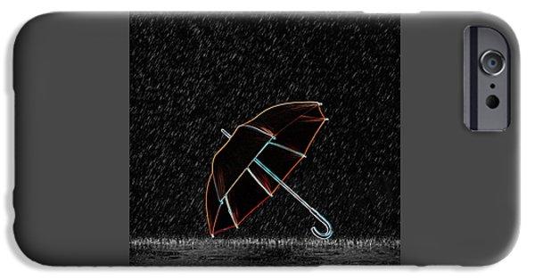 Rainy Night  IPhone Case by Art Spectrum