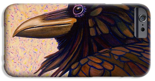 Raven Shaman IPhone 6s Case by Brian  Commerford